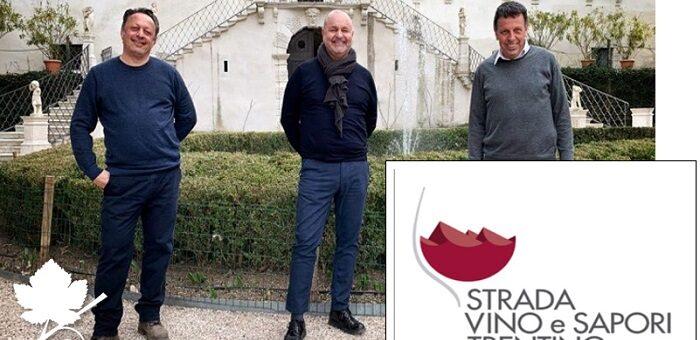 Strada del Vino e dei Sapori del Trentino -Sergio Valentini è il nuovo presidente