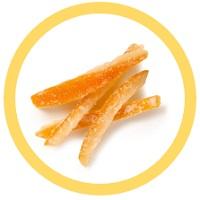 arancia candita - scorzette di arancia