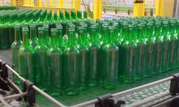fabbricazione di bottiglie