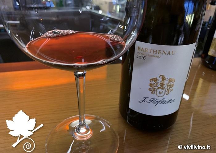 Alto Adige DOC Pinot nero - Barthenau Vigna S. Urbano - J.Hofstätter