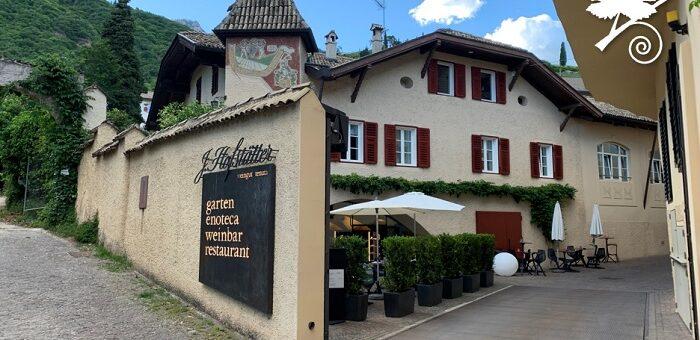 Cantina J.Hofstätter - entrata
