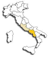 Sciascinoso - area di diffusione vitigno